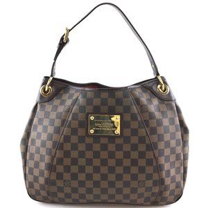 Louis Vuitton Galliera Shoulder Damier Hobo Bag